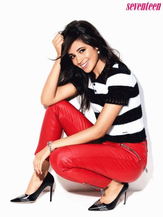 Camila Cabello na capa da revista 'Seventeen'