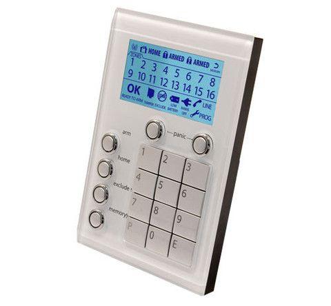 iCentral Alarm Saturn Keypad - White