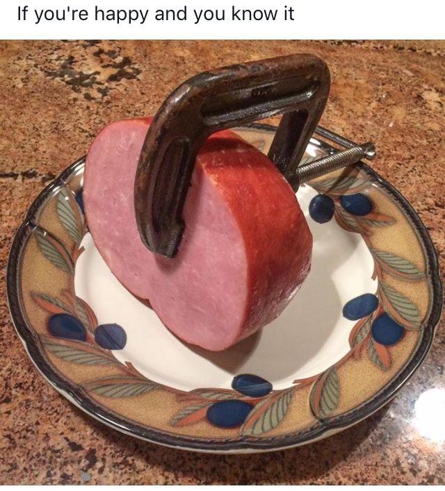Clamp your ham
