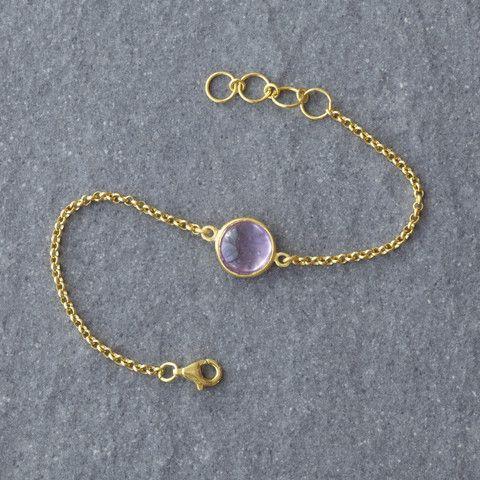 Mist Amethyst Bracelet