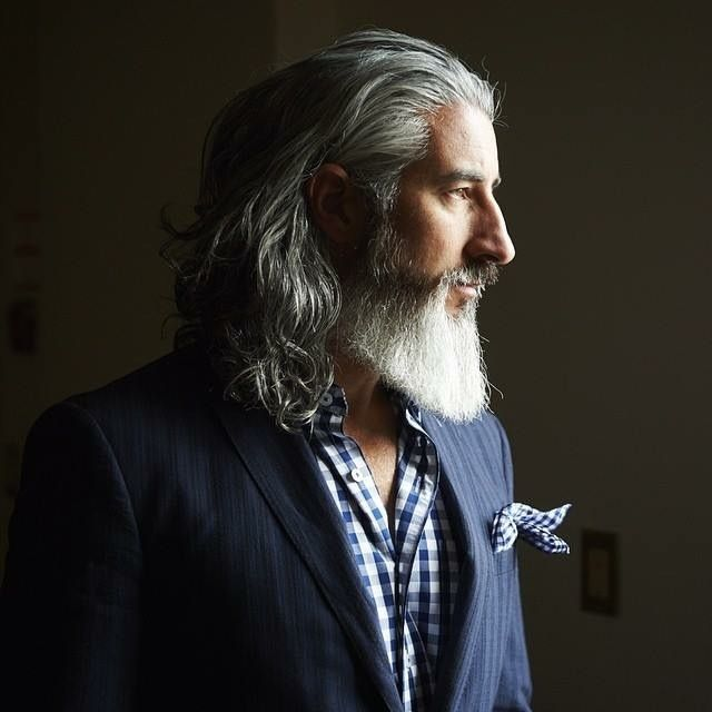Pin By Kerry Dow On Great Hair Tricks And Tips: Silver Fox. R Jack Foley