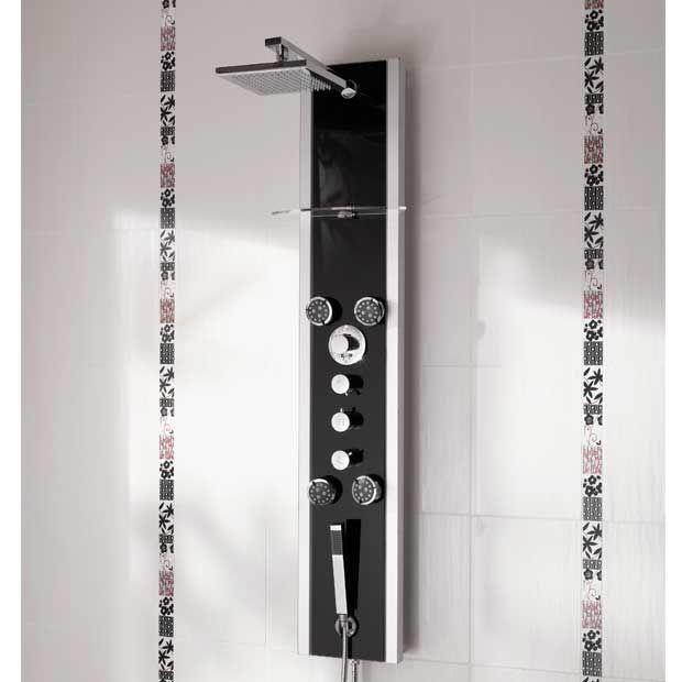 colonne de douche hydromassante tandem
