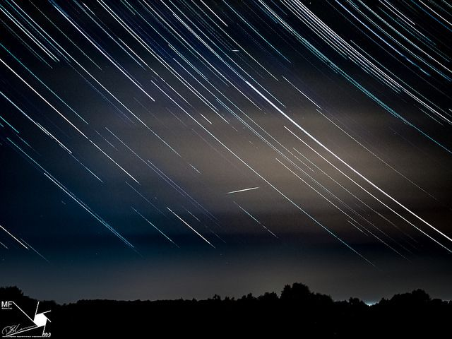 Star-Trails-and-Shooting-Stars | by Munns Foto