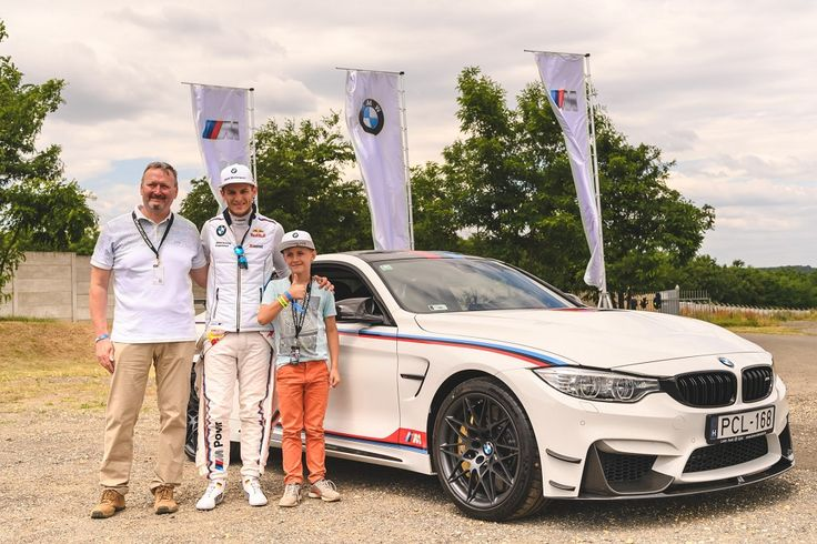 Marco Wittmann aláírásával vált még egyedibbé az egyetlen hazai limitált kiadású BMW M4