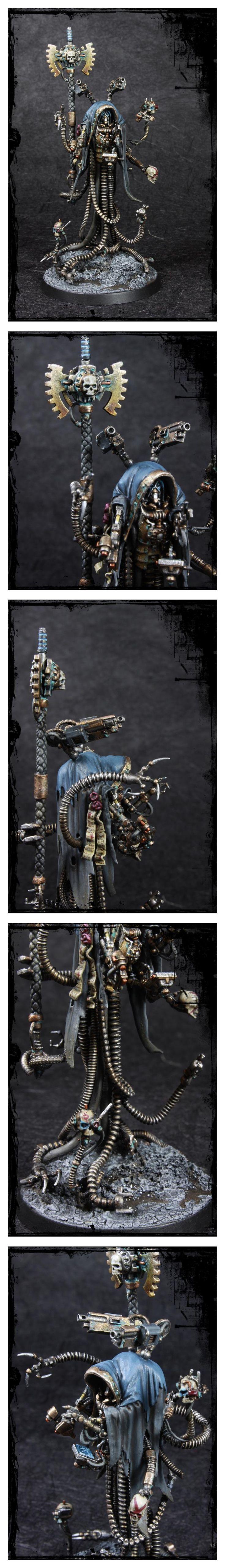 Achlys Iii, Adeptus Mechanicus, Admech, Arch-magos, Warhammer 40,000