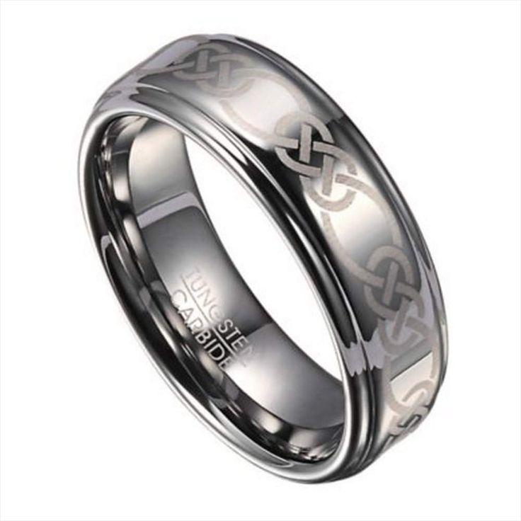 48 fantastic celtic silicone rings no19088 mens wedding