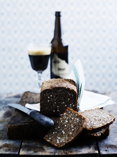 rugbrød og øl fra svaneke bryghus