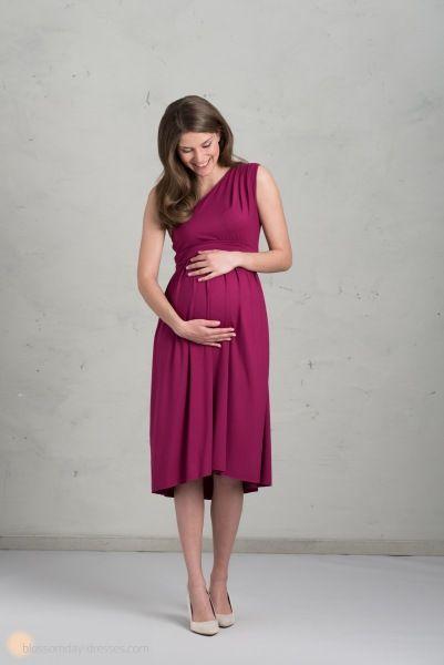 short maternity bridesmaid dress ♥️ Kurzes Brautjungfernkleid für Schwangere / Umstandskleid für Bratjungfern