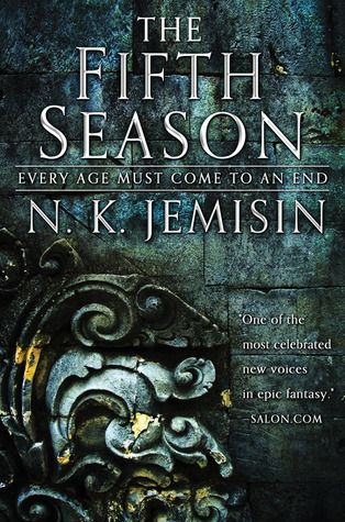 """""""The fifth season"""", by N. K. Jemisin - A season of endings has begun.  It starts with the great red rift across the heart of the world's sole continent, spewing ash that blots out the sun.  It starts with death, with a murdered son and a missing daughter.  It starts with betrayal, and long dormant wounds rising up to fester.  This is the Stillness, a land long familiar with catastrophe, where the power of the earth is wielded as a weapon. And where there is no mercy."""