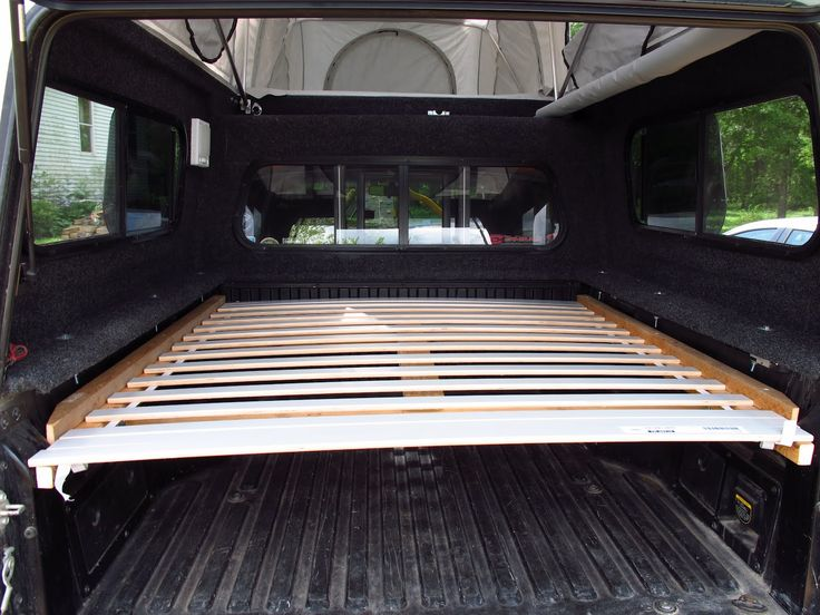 Truck Bed Sleeping Platform - Tacoma Sleeping Platform Bed