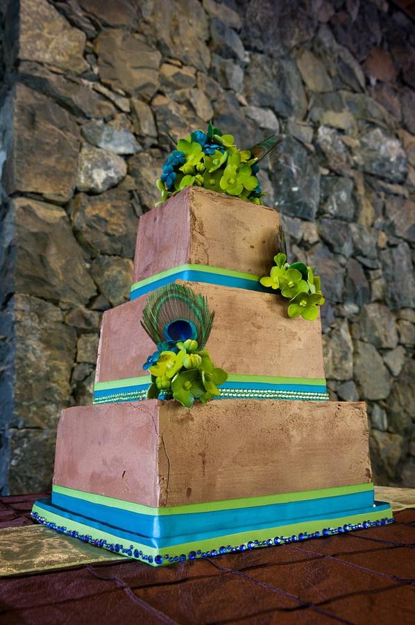 Peacock Wedding Cake   Greg Howard Photography, wedding cake by Coastal Cake CompanyPhotography Wedding, Peacock Wedding, Wedding Cakes, Wedding'S Peacocks