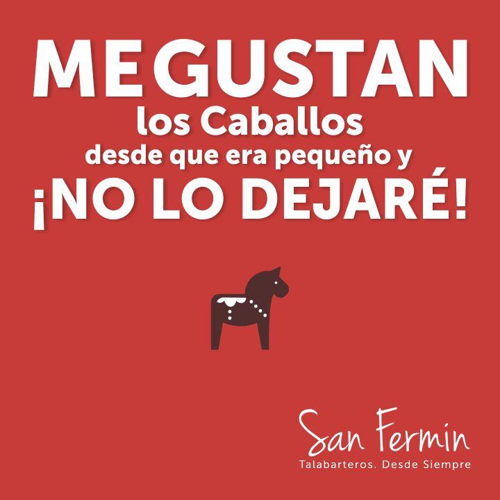¡Nuestra consigna en el día de hoy! #SanFermin #Talabarteria