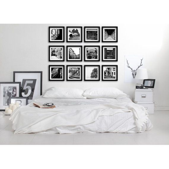 Gallery Wall Set 25+ best black and white minimalist gallery wall ideas on