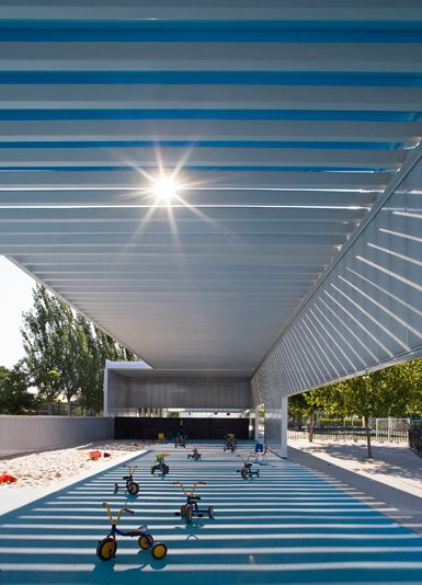 HOT - Castle in the clouds - airy, open, sunny environment engineered to make kids feel like space is limitless in Madrid, Spain