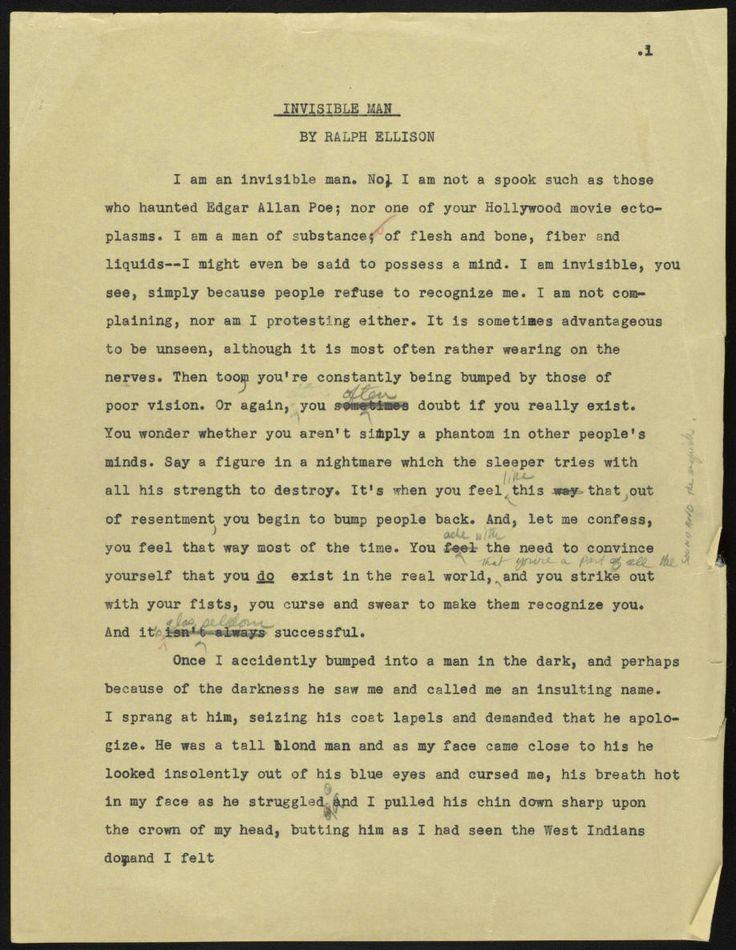 Ralph ellison essays