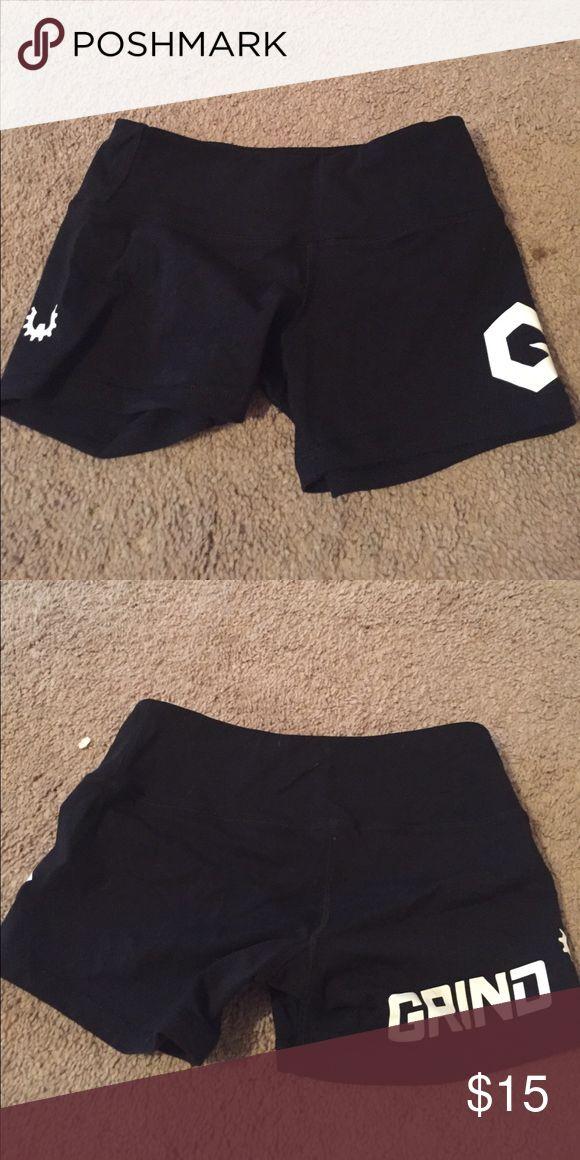 WOD Gear workout shorts - Size S GRIND branded, never worn WOD Gear Shorts
