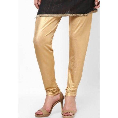 LEGGINGS -Castle Solid Golden Legging Size: XL