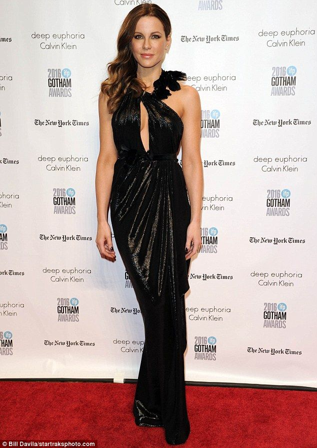 Turning every head: Kate Beckinsale was a stunning sight at the Gotham Independent Film Awards in New York City on Monday