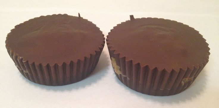 DIY Dark Chocolate Almond Butter Cups