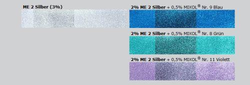 Mixol Universal Abtönfarbe Konzentrat Silber mit 200ml - Metallic ...
