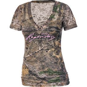 Women's Realtree Xtra Camo Remedy Burnout Tee