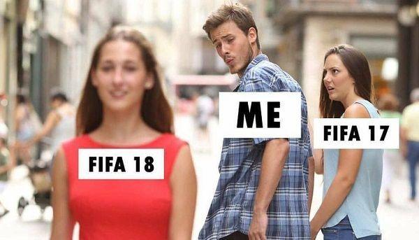 Ja i Fifa 18 vs Fifa 17, czyli jak spoglądam na nową Fifę i starą Fifę • Fifa 18 vs Fifa 17 na przykładzie kobiet • Wejdź i zobacz #fifa #fifa18 #memes #football #soccer #sports #sports #pilkanozna #futbol