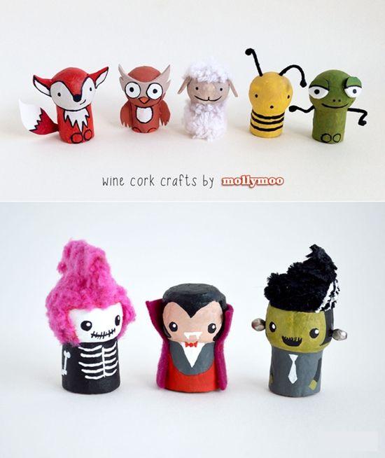 crafts corcho Manualidades para Niños con Corcho