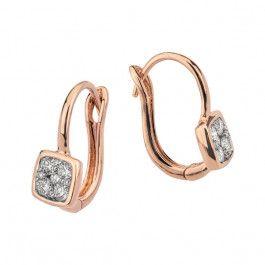 Bijuteria teilor: Cercei cu diamante