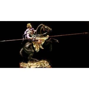 アレキサンダー大王と愛馬ブケパロス(騎馬) 75mm