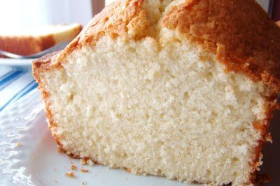 Crusty Butter Pound Cake...I want for Tres Leches