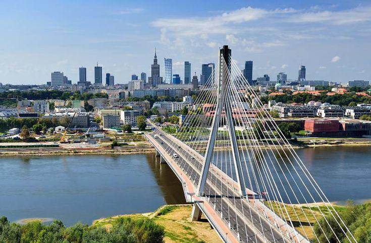 Across the Vistula to The City.