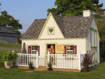 10 x 12 Victorian Playhouse - Panelized Kit