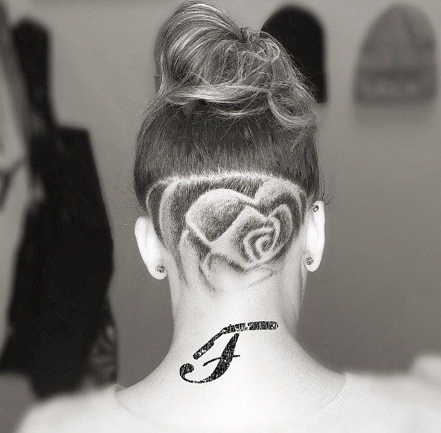 Undercut patterns for girls imgkid the image