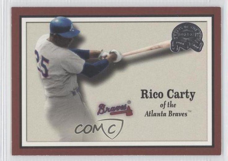 2000 Fleer Greats of the Game #80 Rico Carty Atlanta Braves Baseball Card 0j0 #AtlantaBraves