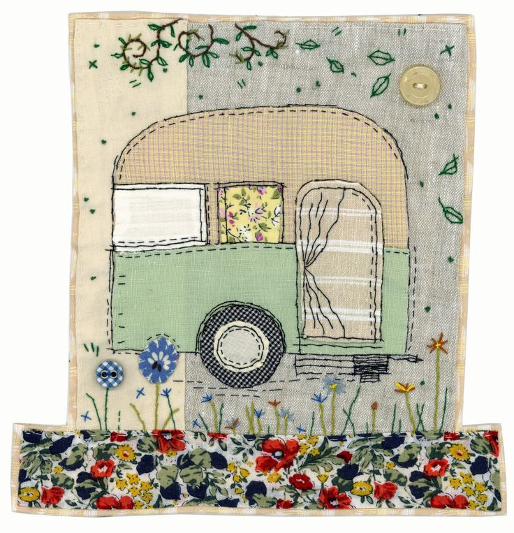 Just a quick post to share this new caravan design I've been working on! I hope everyone has some exciting Jubilee celebrations this week...