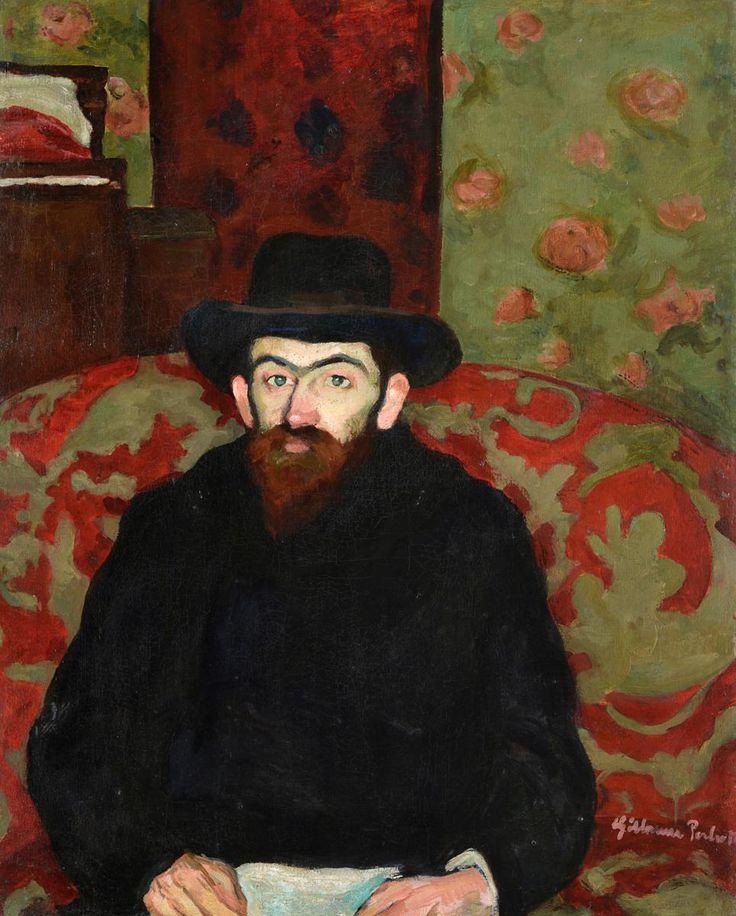 Perlrott Csaba Vilmos: Ziffer Sándor arcképe, 1908 körül