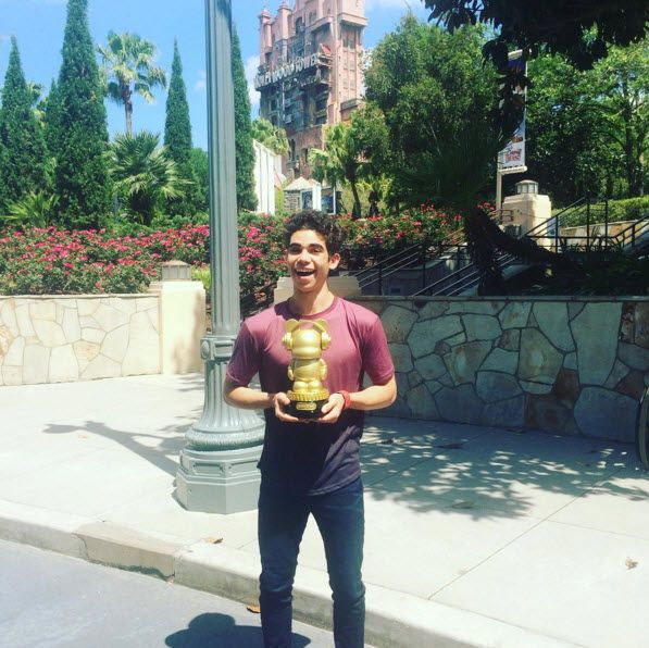 Mr. Cameron Boyce was at Disney's Hollywood Studios and Disney's Animal Kingdom on Thursday, April 7, 2016. The Gamer's Guide to Pretty Much Everything star
