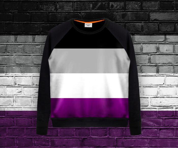 Asexual Flag - all over print long sleeve shirt #asexual #asexuality #ace #lgbtqia #shirts #clothes You can buy it here: https://blibli.cupsell.com/product/2256637-product-2256637.html Other merchandise with the same design (also all over print) can be found here: https://blibli.cupsell.com/k/asexual-flag