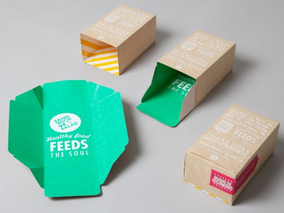 Sandwich or Salad brand identity 05