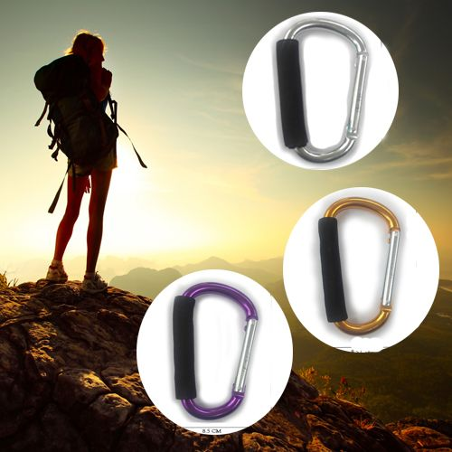 Accessory Mini Jumbo carabiner is best for connecting tent and ropes, great to hold items, Ideal for hanging on the bag. Buy - http://bit.ly/2bdZb5C