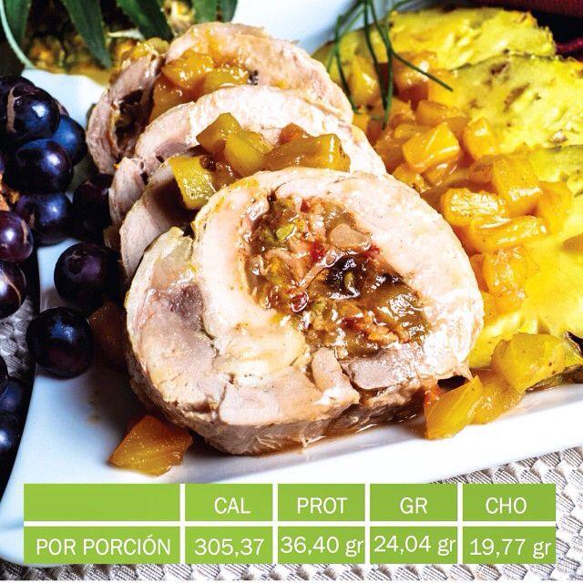 PAVO RELLENO DE VEGETALES Y FRUTOS SECOS #navidadsaludable INGREDIENTES · 4 pechugas de pavo (700 gr) · ½ tallo de Ajo porro (60 gr) · 3 ajíes dulce (45 gr) · 1 cebolla morada cortada en cuadritos pequeños (150 gr) · 1 manzana mediana con cáscara cortada en cuadritos (150 gr) · 10 Alcaparras (15 gr) · 10 Aceitunas (30 gr) · ¼ de taza de almendras troceadas (40 gr) · ¼ de taza de uvas pasas (40 gr) · 1 pimentón rojo cortado en cuadritos (100 gr) · 1 cucharadita de aceite de oliva (5 ml) · 2…