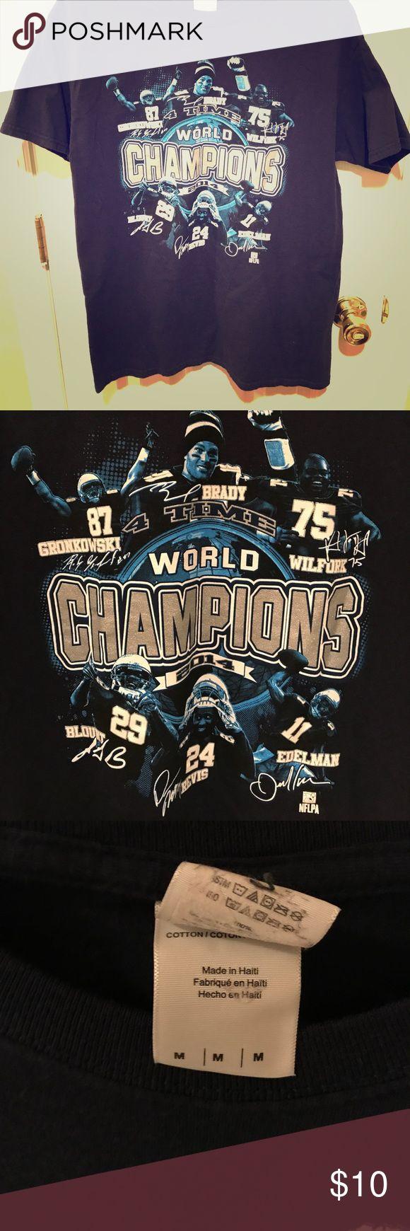 New England Patriots 2014 World Champions Tee New England Patriots 2014 World Champions Tee Gildan Shirts Tees - Short Sleeve