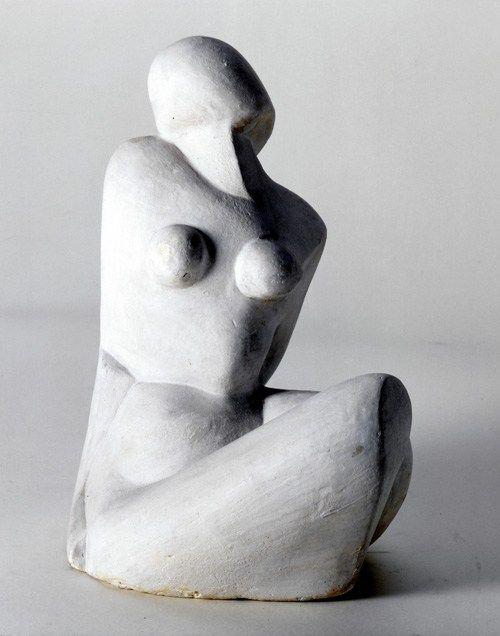 Katarzyna Kobro, Akt 1, 1925-27, gips, 22x13x19 cm, fot. dzięki uprzejmości Muzeum Sztuki w Łodzi - photo 3