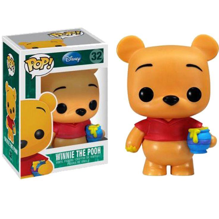 Disney Winnie The Pooh POP Vinyl Figure (orange)