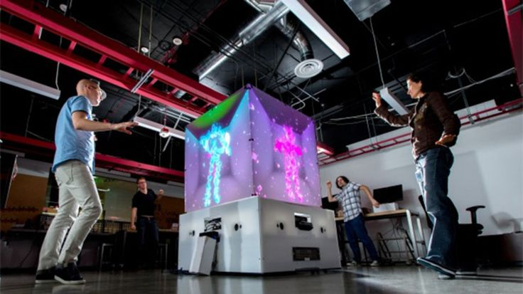 Microsoft's Cube is a giant Kinect dance party | The Verge