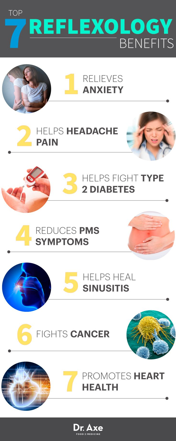 Reflexology Benefits http://www.draxe.com #health #holistic #natural