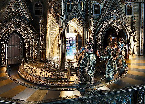 Karl IV. hält Hof in der Stadt