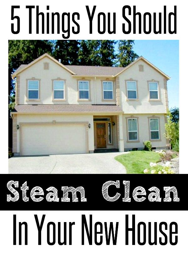 5 Things You Should Steam Clean in Your New House | Crafting in the Rain #ad