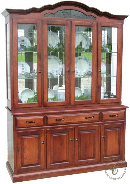 Valmont China Hutch Cabinet Dining Room