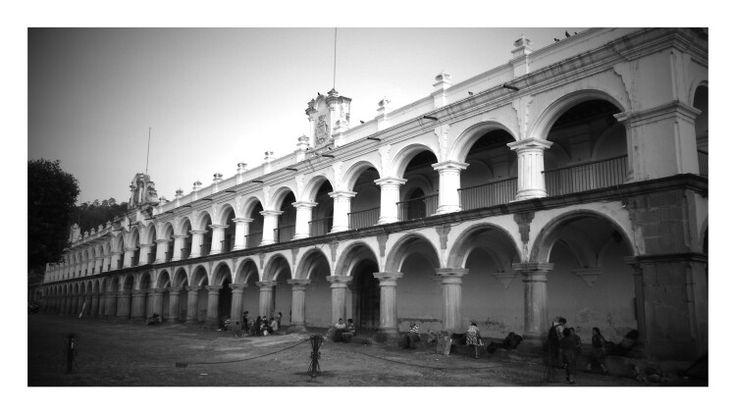 Palacio de los Capitanes Generales, Antigua Guatemala, Guatemala. Construido en 1775.